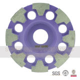 100mm 새로운 디자인 다이아몬드 8개의 세그먼트를 가진 가는 컵 바퀴
