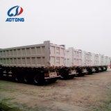 Capovolgimento/rimorchio scaricatore/del deposito dell'asse della Cina Aotong 2 semi/fornitore rimorchio del camion
