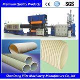 PE/PP/PVC doppel-wandiger gewölbter Rohr-Großverkauf-Plastikstrangpresßling