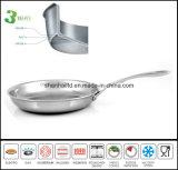 3 Pan van het Gebraden gerecht van de Koekepan van de Pan van de vouw de Gastronomische