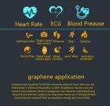 Франтовской браслет с монитором тарифа сердца ECG и делает водостотьким