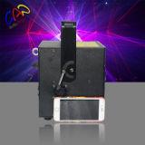 Multifunción 3W RGB SD tarjeta de luz láser para publicidad al aire libre