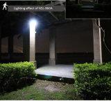 Resistente al agua de la seguridad inalámbrica solar Solar de la luz del sensor de radar Iluminación de pared