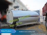 農場のミルクのための5tステンレス鋼の冷却タンク(35から4degree、必要な時間2時間のに冷却する)
