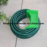 Boyau de jardin hydraulique flexible de PVC avec le renforcement par fibres