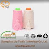 Filato di cucito di alta qualità tinto della tessile di cotone del filato di colore