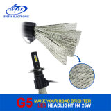 2016 kit H11 9007 del faro dell'automobile LED di Fanless dell'accessorio automatico 9004 faro 5500k, 6500k di H13 H4 LED