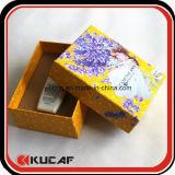 Caixa de empacotamento cosmética do cartão feito sob encomenda da impressão