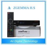High-Tech Digital Zgemma H. S HDTV Receptor Alto CPU Dual Core Linux Sistema operacional Enigma2 DVB-S2 One Tuner