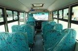 Petit luxe Cummins Engine de minibus de portées du passager 25 d'école rouge durable d'étoile