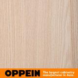 Portello scorrevole della melammina di Oppein costruito nel guardaroba di legno della camera da letto (YG91553)
