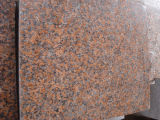 Pietra dell'interno rossa della natura del granito delle mattonelle della parete dell'acero della Cina G562