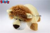 Almofadas decorativas almofadas em forma de brinquedos Leão recheadas de pelúcia