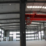 La luz de techo baratos prefabricado Industrial estructura del edificio de la construcción de acero