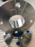 Flange do aço inoxidável da garganta da soldadura do ANSI B16.5 F316L