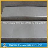 Het opgepoetste Zuivere Witte Marmeren/Witte Marmer van de Jade voor de Tegels van de Muur van de Vloer