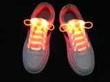 Lacet de chaussure de clignotant de fantaisie des lacets de chaussure de LED LED