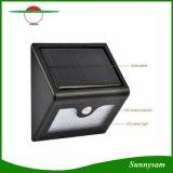Energia solar impermeável PIR LED Wall Mount Garden Street Light 28PCS Lâmpadas sensor de movimento lâmpada de segurança Dim-Mode 2200mAh bateria