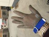 Отрежьте упорную работая перчатку сетки нержавеющей стали для Butcher