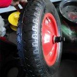 3.50-8 플라스틱 변죽 편평한 자유로운 PU 거품 바퀴
