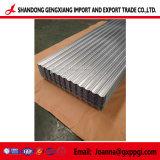Strato d'acciaio ondulato galvanizzato tuffato caldo del tetto di Gi ricoperto zinco per industria