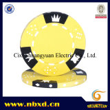 14G 3-toon Crown Dice Clay Poker Chip (sy-E06)