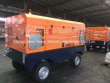 Компрессор воздуха Portbale пользы буровой установки добра воды с колесами