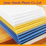 Folha plástica ondulada colorida 4X8 dos PP
