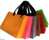 フェルトのハンド・バッグのフェルト袋