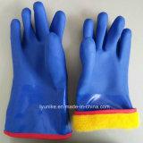 Долго многоразовые манжеты рабочая песчаных руки с покрытием из ПВХ перчатки