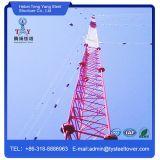 Сигнал связи башни Guyed Tengyang решетчатые башни