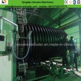 Двойные стенки HDPE трубы обмотки возбуждения производства экструзии линии
