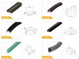 Profil en plastique de guichet de PVC d'extrusion d'exportation du constructeur Q-008 de la Chine