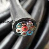 En polyéthylène réticulé de cuivre souple/isolant en PVC et de la gaine du câble de commande électrique