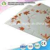 La décoration de carreaux en plastique Materital 250*8.5mm panneau de plafond PVC Panneau mural DC-05