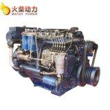 90kw Diesel van diesel Mariene Weichai Deutz Wp6 122HP van de Motor Dieselmotor