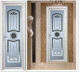 Hölzernes Farben-Aluminium eingehängte Tür für Küche