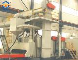 Stahlplatten-Oberfläche Cheaning Abrator mit Rollen-Förderanlage