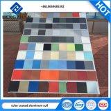 Bobine d'aluminium à revêtement de couleur pour les constructions du panneau de mur extérieur