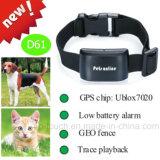 IP67는 즉시 D61를 가진 GPS 애완 동물 추적자를 추적 & Geo 담 방수 처리한다