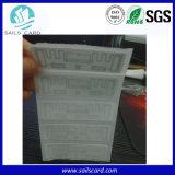 Etiqueta autoadesiva da freqüência ultraelevada MPE G2 RFID