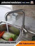 浴室のためのステンレス鋼の正方形の洗面器水蛇口の滝のコック