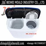 OEMのカスタム注入のプラスチック半自動対のたらいの洗濯機の洗濯機型