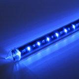 DMX RGB 360 LED 관 Madrix 빛