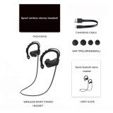 Кристаллический отмена шума шлемофонов в-Уха Bluetooth V4.2 стереофонического звука беспроволочная для спорта