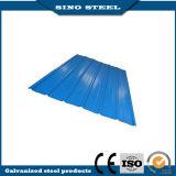 屋根ふきシートのためのPrepainted電流を通された波形の鋼板