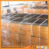 HDPE 50мм-200мм глубокий черный пластиковый Geocells