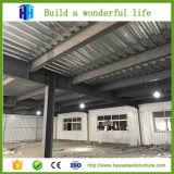 Vertiente industrial de la estructura de acero para el almacén