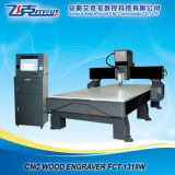 Ranurador del CNC para la madera, talla material del no metal, tabla de funcionamiento de 1300X1800m m, huso de la refrigeración por agua