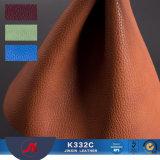カー・シートカバーのための品質のカー・シートのLycheeの信頼できる穀物PVCレザー